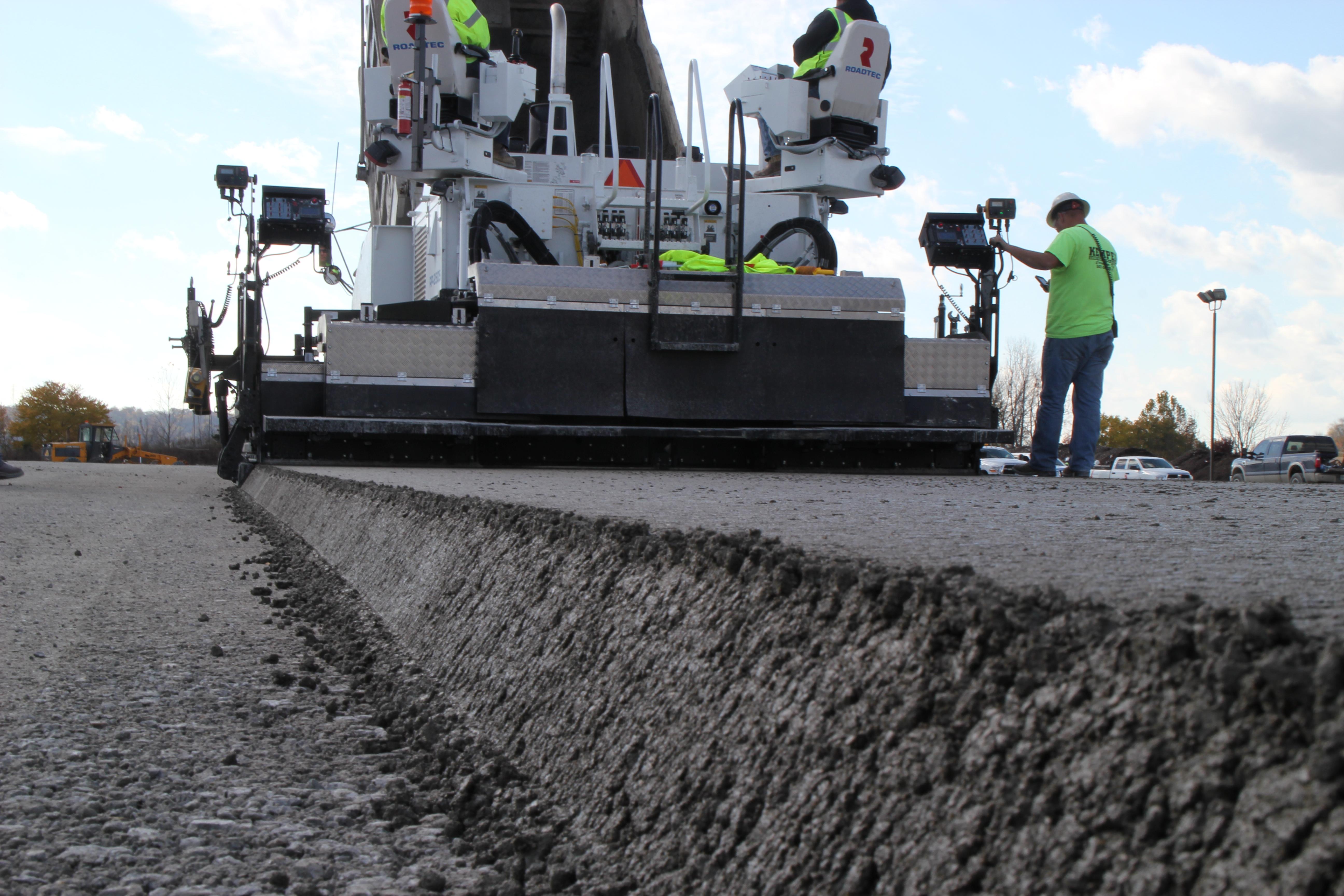 Roller Compacted Concrete Equipment : Roller compacted concrete kemper construction llc